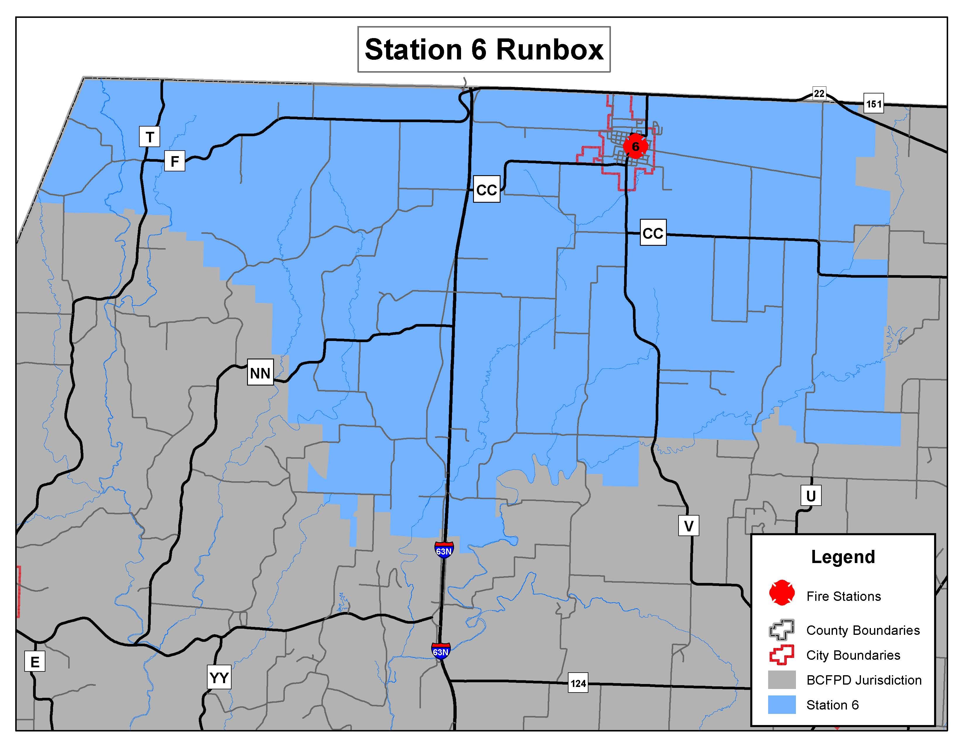 "Station 6 ""Sturgeon"" Run Map"