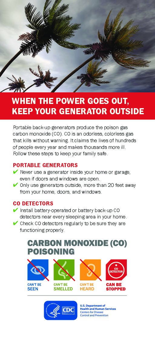 When the Power Goes Out – Carbon Monoxide Poison News Image