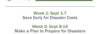 September is National Preparedness Month News Image