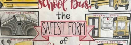 School Bus Safety Week – October 21 – 25, 2019 News Image